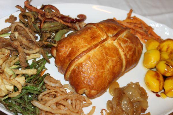 Carnes restaurante marisquer a cierto blanco - Solomillo de cerdo encebollado ...